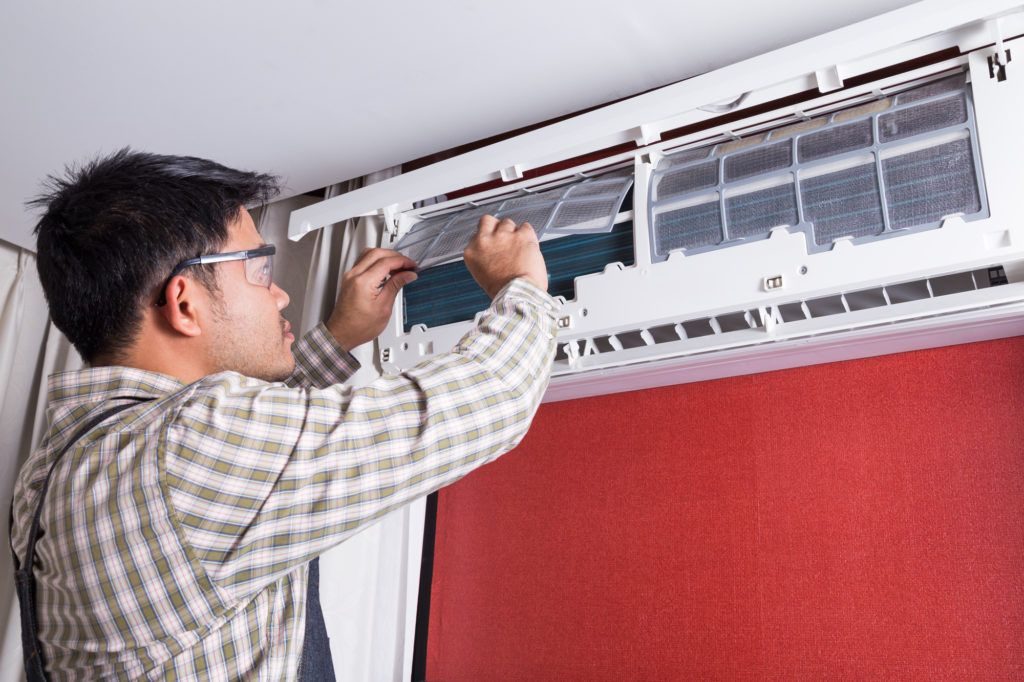A/C System Unclog and Cleaning