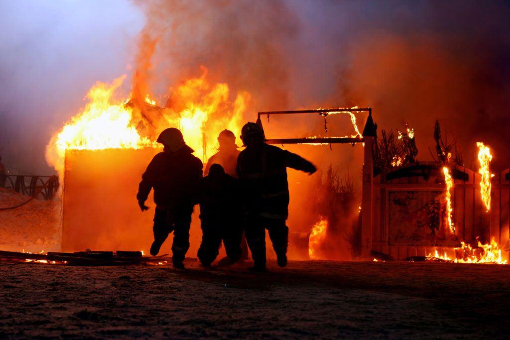 Winter fire safety checklist