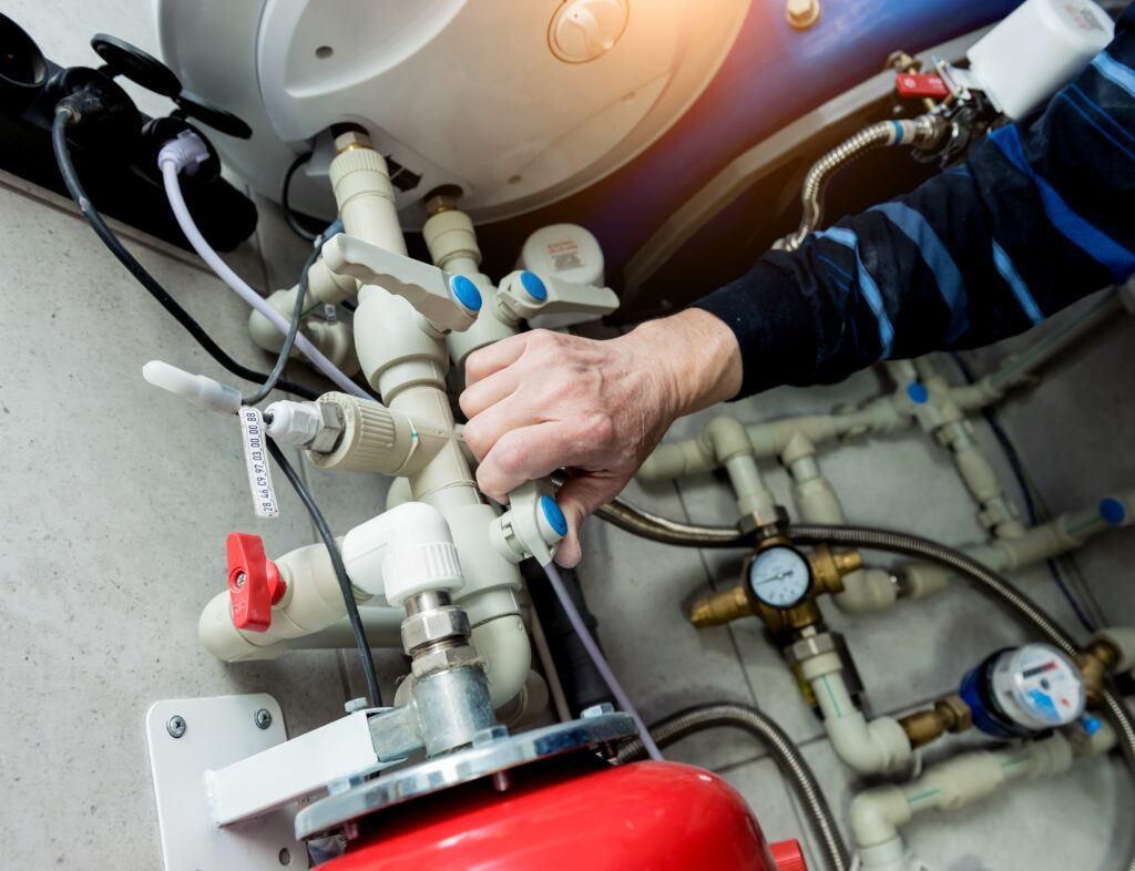 Proper water heater installation